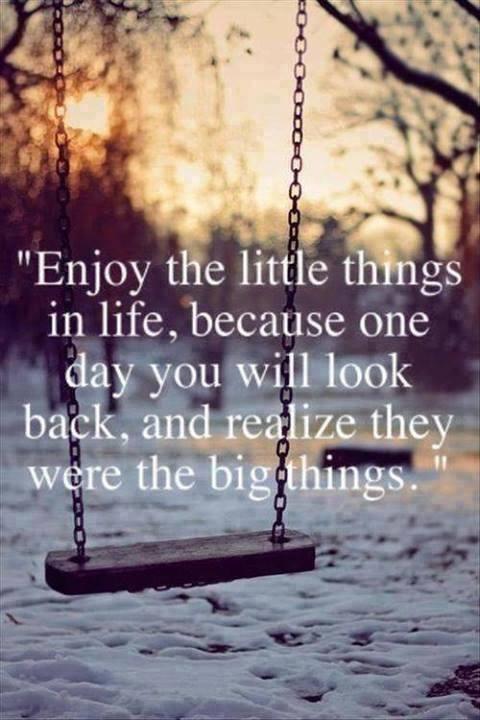 Enjoy today! - Kristin's Great Times